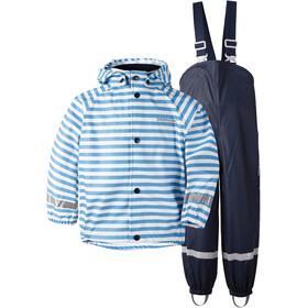 Didriksons 1913 Slaskeman Printed Set Kids malibu blue simple stripe